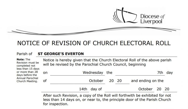 Electoral Roll Revision