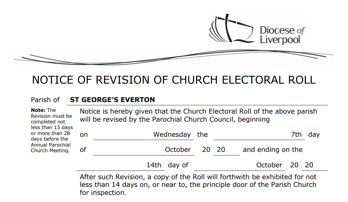 Electoral Roll Revision
